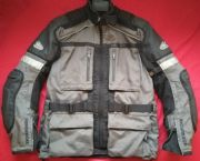 HEIN GERICKE CRUISE GORETEX CORDURA MOTORCYCLE JACKET UK 41 42 Chest EU 52 Grey